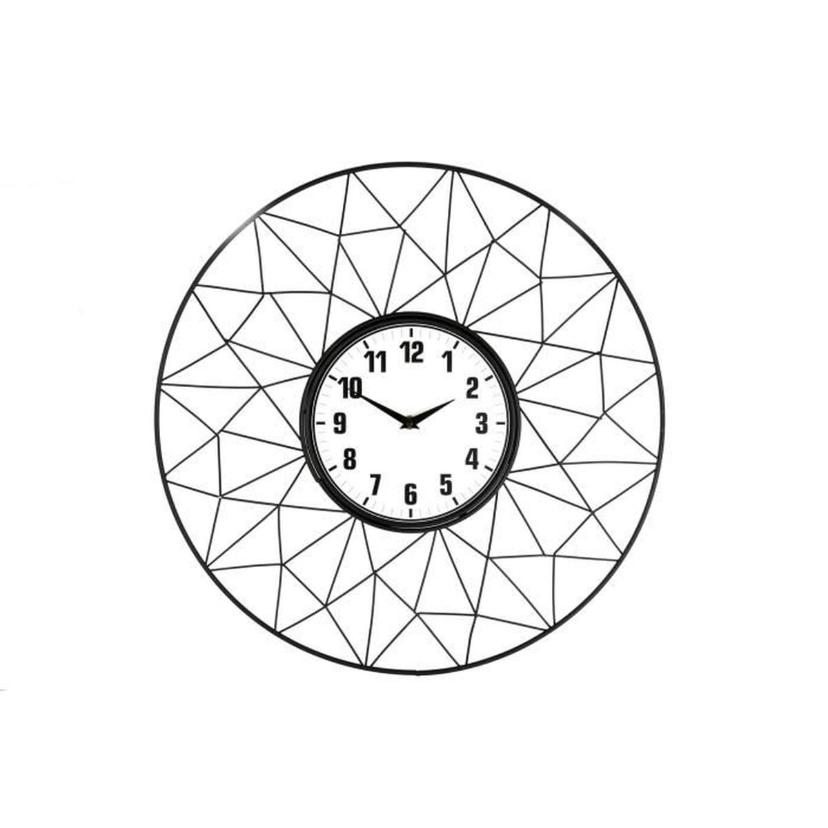 nouveau deco salon moderne avec horloge murale 60 cm