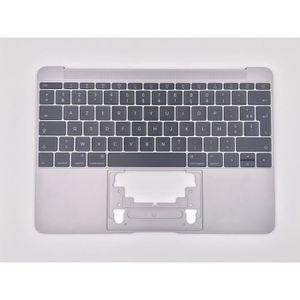 CLAVIER D'ORDINATEUR Topcase Argent+clavier français AZERTY Apple MacBo