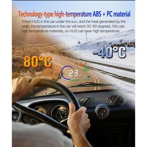AFFICHAGE PARE-BRISE A8 Afficheur voiture Head Up Display HUD Tête Haut