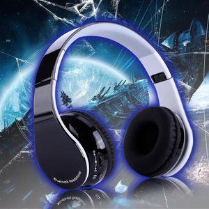 INSTRUMENT POUR JEU Casque de jeu sans fil pliable Bluetooth 4.1 stéré