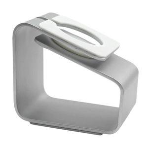 DOCK MONTRE CONNECTÉE Argent Simple Joli Durable Cool Aluminium Alliage