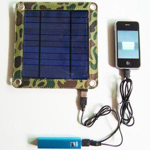 CHARGEUR - ADAPTATEUR  Chargeur Solaire Universel 3 Watts et Batterie 260