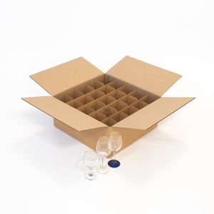 carton pour verre demenagement achat vente carton pour verre demenagement pas cher cdiscount. Black Bedroom Furniture Sets. Home Design Ideas
