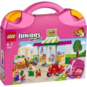 Superbe ASSEMBLAGE CONSTRUCTION LEGO® Juniors 10684 La Valise Supermarché   134 Pi
