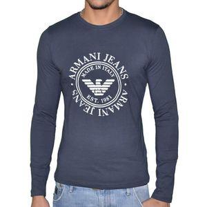ba68cf77c2941 T shirt manche longue armani - Achat / Vente pas cher