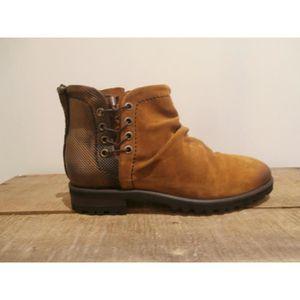 bottines Dkode cognac Boots Dkode Boots bottines sachi wq8t6t
