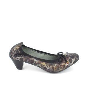 ESCARPIN Chaussure de ville LPB Escarpin Ava Noir Imprimé