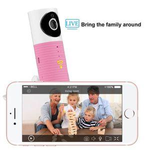 CAMÉSCOPE NUMÉRIQUE Caméra IP intelligente, Caméra vidéo Wifi Moniteur