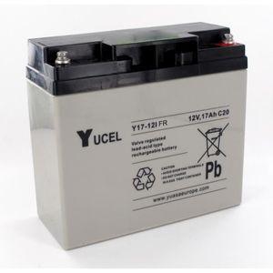BATTERIE DOMOTIQUE Batterie plomb Yuasa 12V 17Ah Y17-12FR