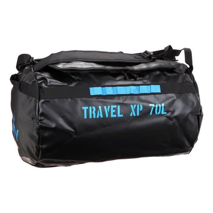 0d6c5b6e7a WANABEE Sac de voyage Travel XP 70 L - Noir et jaune doré Noir et ...