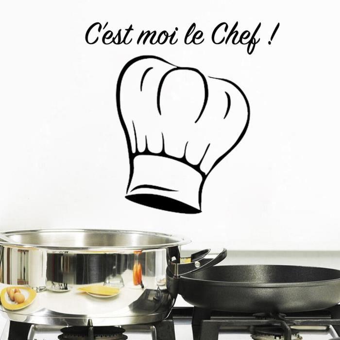 Fran ais dessin anim stickers muraux pour cuisine d coration la maison achat vente - Stickers pour cuisine decoration ...
