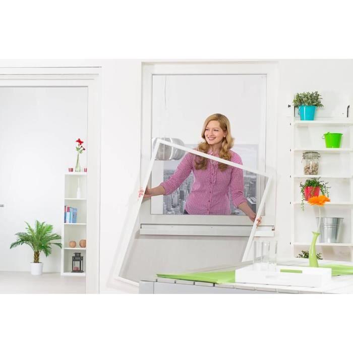 moustiquaire fenetre cadre fixe achat vente moustiquaire fenetre cadre fixe pas cher. Black Bedroom Furniture Sets. Home Design Ideas
