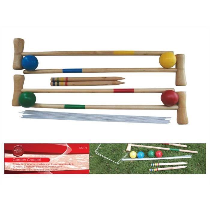 jeu de croquet adulte - achat / vente jeux et jouets pas chers