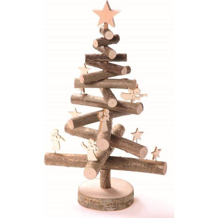 sapin de no l 30 cm en bois avec figurines achat vente sapin arbre de no l cdiscount. Black Bedroom Furniture Sets. Home Design Ideas