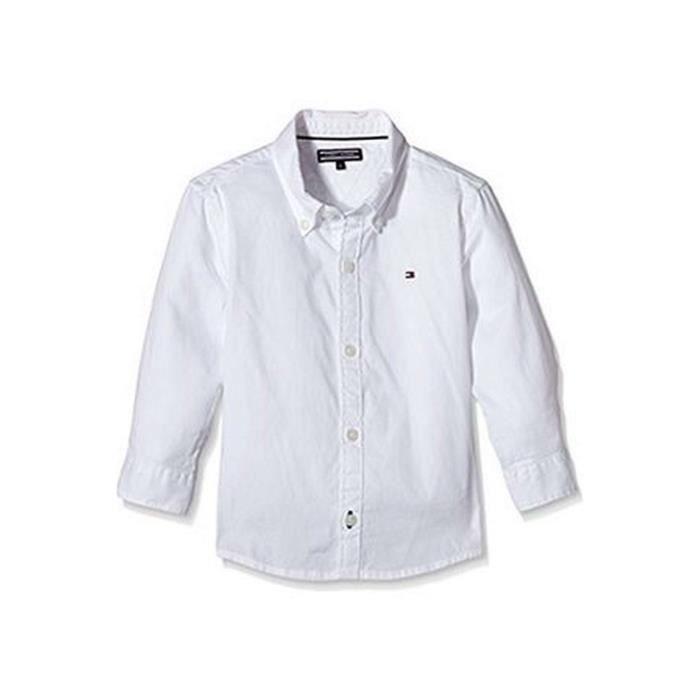 TOMMY HILFIGER junior chemise Enfant blanc, 3 A Blanc Blanc