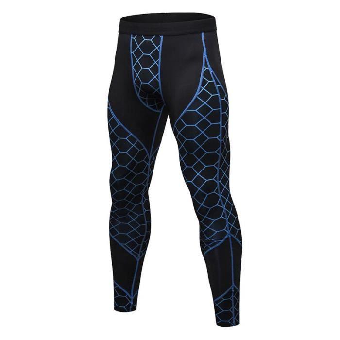 LEGGING DE COMPRESSION Pantalon de Compression Homme Legging de Sport Fit fca97dbfaf2