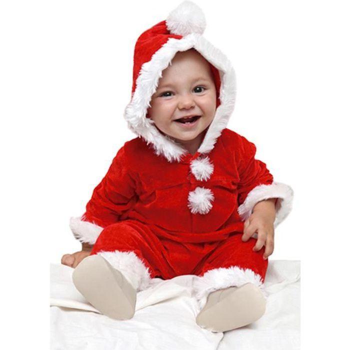 dfeec2016ac25 Déguisement père Noël bébé Taille 12-24 mois - Achat   Vente ...
