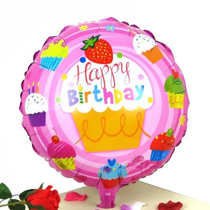 18 Pouces Joyeux Anniversaire Ballon Pour Enfants Décoration Fête Danniversaire