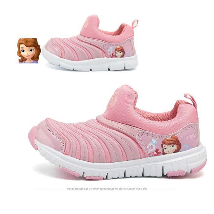 Basket Unisexe Chaussures pour enfants chaussures à chenilles chaussures de sport respirantes 91amG1gU
