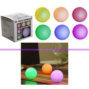 boule lumineuse qui change de couleur achat vente boule lumineuse qui change de couleur pas. Black Bedroom Furniture Sets. Home Design Ideas