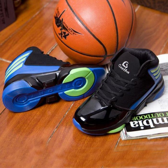 Chaussures de basket-ball Hommes Sneaker KIANII® Noir-Bleu