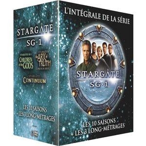 DVD SÉRIE DVD Stargate SG-1 l'intégrale des 10 saisons