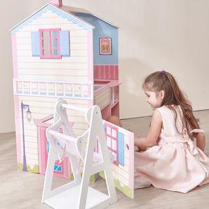 MAISON POUPÉE Maison de poupée Dream Land nurserie poupon 2 faça