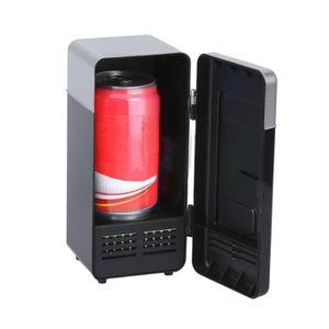 RÉFRIGÉRATEUR CLASSIQUE Réfrigérateur USB mini réfrigérateur voiture (noir