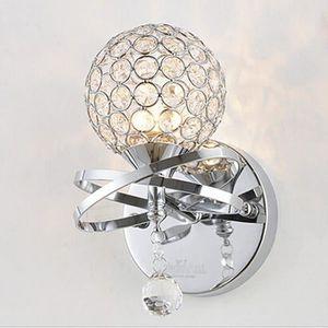 APPLIQUE  Lightess Applique Murale Design Cristal 1 Ampoule