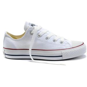 converse basse homme blanche