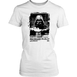 T-SHIRT Femmes t-shirt DTG Print - Darth Vader Mug shot -