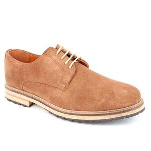 chaussures bleu et marron à semelles bois 3066-navy X3vyCE2z