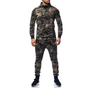 SURVÊTEMENT Survêtement stylé homme camouflage kaki Violento