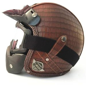 CASQUE MOTO SCOOTER 2018 nouveau casque moto cool avec masque 7
