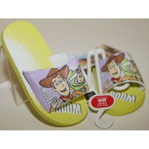 SANDALE - NU-PIEDS Claquette Tong Sandale Disney Toy Story Buzz et Wo