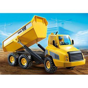 Playmobil chantier achat vente jeux et jouets pas chers - Playmobil camion chantier ...