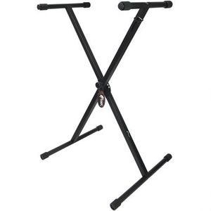 PIED - STAND Tiger KYS77-BK Support pliant repliable pour Clavi