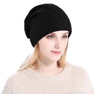 BONNET - CAGOULE Chapeau en unisexe en tricot chaud Bonnets tricoté