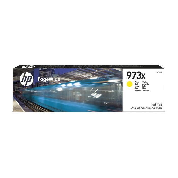 HP Cartouche d'encre 973X - 7000 pages - Pack de 1 - Jaune