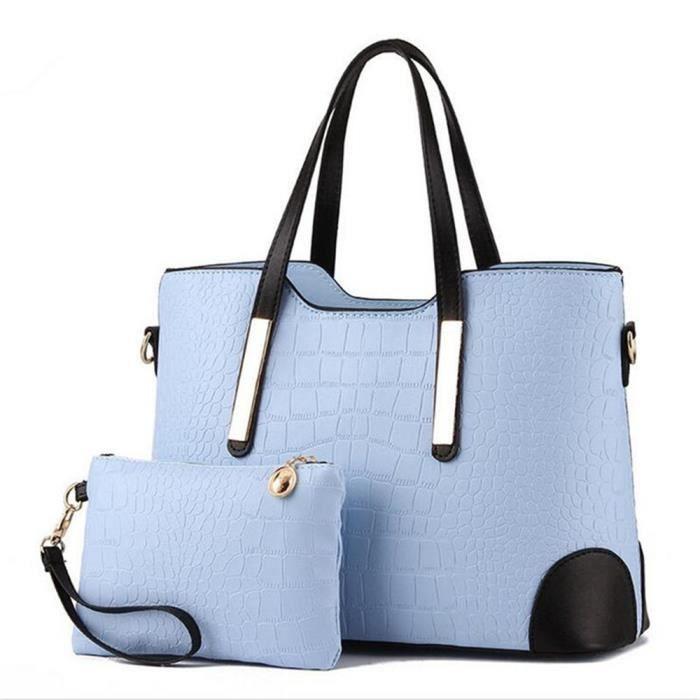 sac a main femme bleu