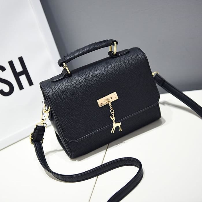 femme cuir sac à sac noir qualité bandouliere main marque luxe de sac sac 2017 femme de meilleure sac à sac main marque femme BqpqXF