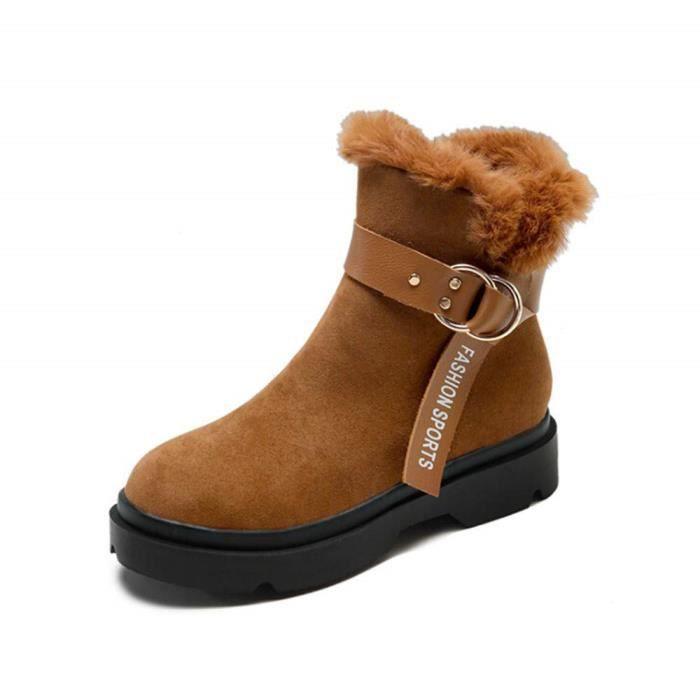 nouveau sommet mode de luxe dernier Botte Femme Noir Boot Fille Boots Femme Bottine Plastique Femme Chaussures  Les Femmes Pointues Orteil Chaussures Boucle De