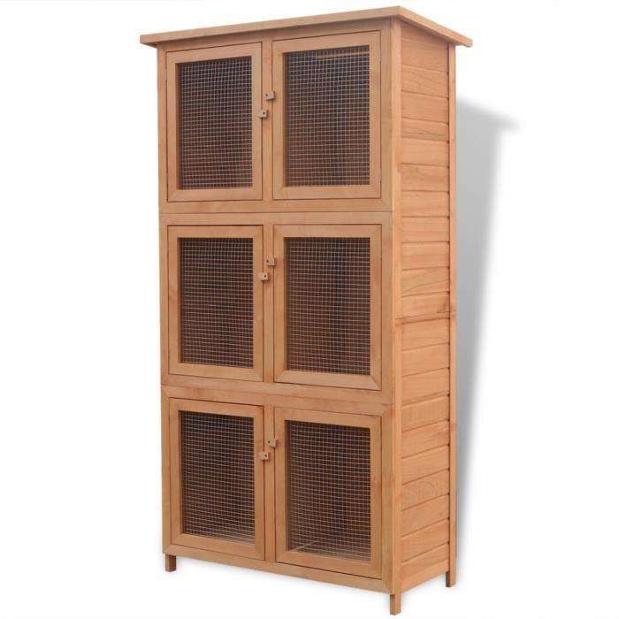 CAGE Cage pour animaux lapin poulet Clapier/poulailler