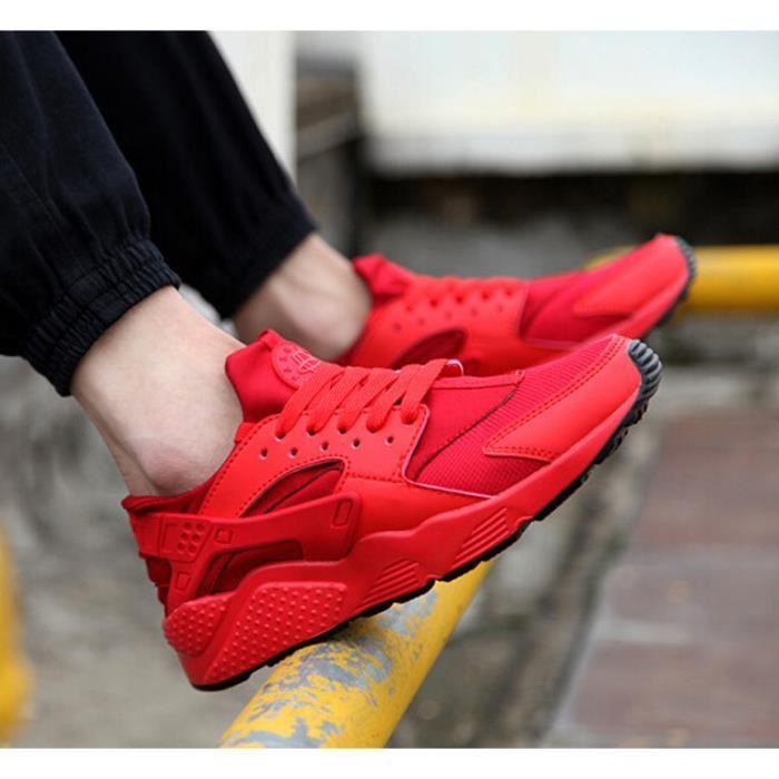 des de de les chaussures occasionnels hommes sont de mesh chaussures rouges sport respirant chaussures course vwxZ4wEq