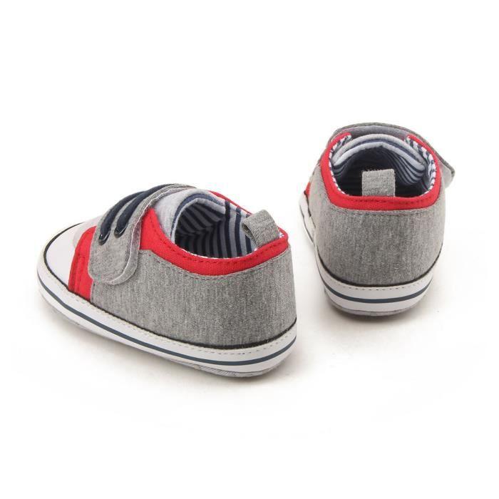Napoulen®Bébé filles Loisirs berceau chaussures semelle douce anti-Slip Sneakers bandage chaussures-NYZ0926026 WnkaN1EJmy