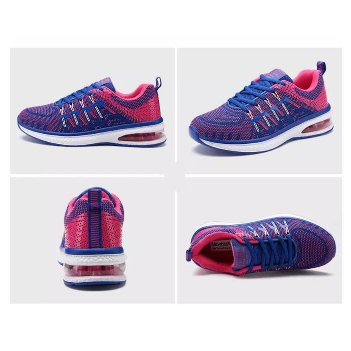 baskets chaussures de sport respirantes chaussures de course chaussures de coussin d'airHommes et femmes