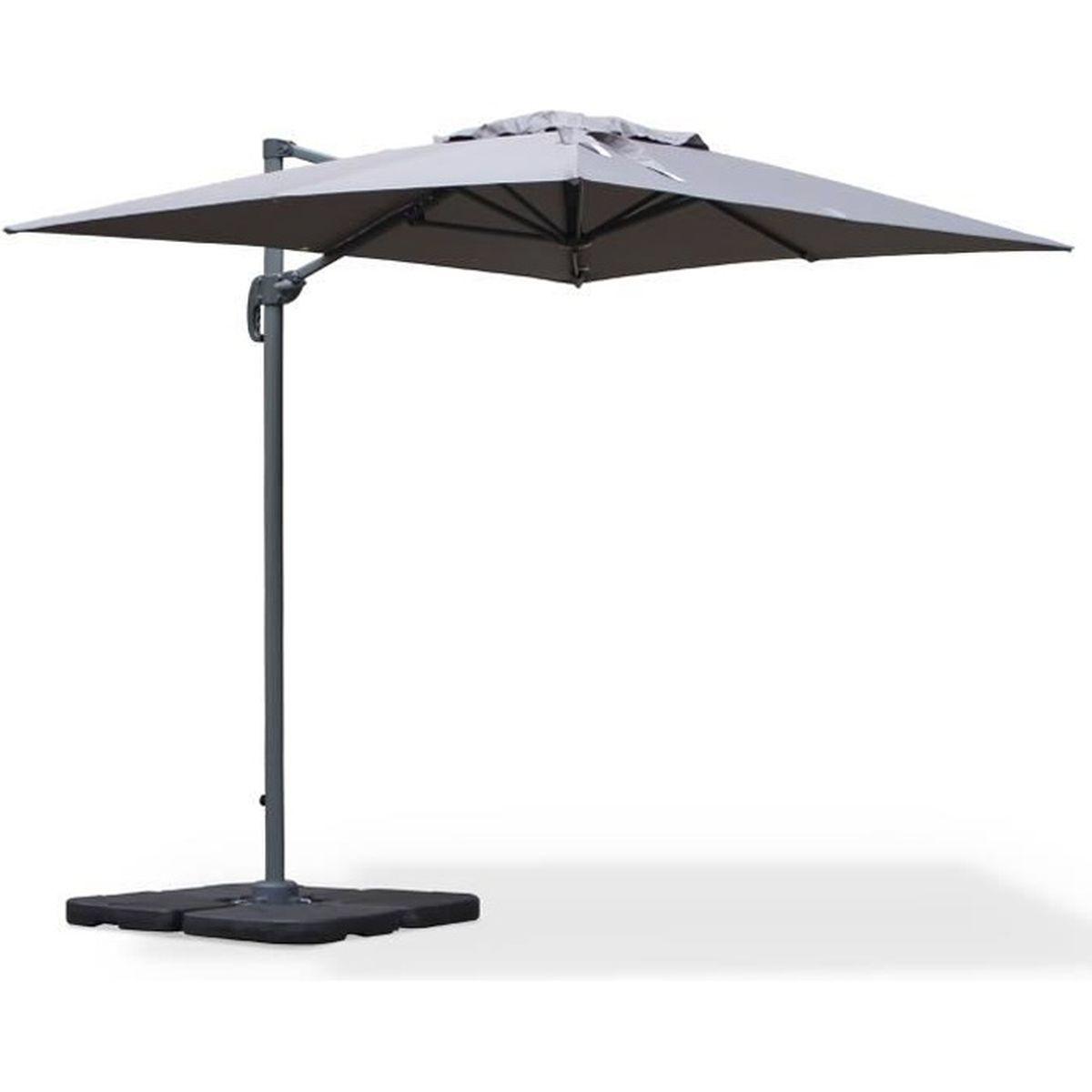 parasol rectangulaire 5x3