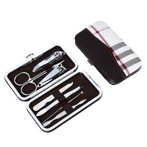 SET MANUCURE-PÉDICURE Trousse à ongles Trousse Manucure  Nail Clipper+Ci
