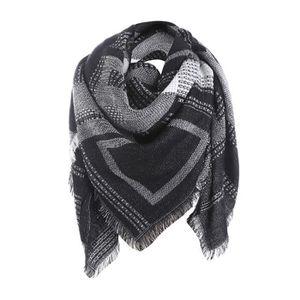 8a031722eff3 ECHARPE - FOULARD Femme plaid long Cashmere laine châle écharpe col
