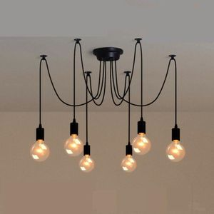 PLAFONNIER 6 Tte E27 Lampe Plafonnier Design Led Pl